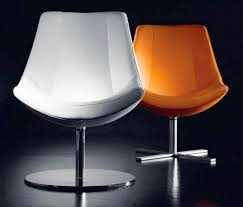 contemporary swivel chairs by tonon