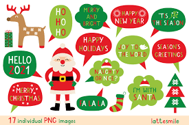 Christmas Party Signs Graphic By Lattesmile Creative Fabrica