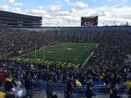 Michigan Stadium Club Level Seating Chart Michigan Stadium Jack Roth Stadium Club Seats