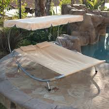 new hammock bed lounger double chair pool chaise lounge with