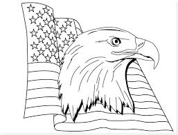 Small Picture Free Printable American Flag Coloring Pages