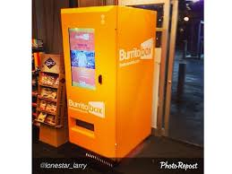 Burrito Vending Machine Extraordinary That's A Wrap The Burrito Vending Machine Is Now A Reality Stuff