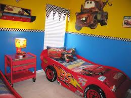 Lightning McQueen Toddler Bed Theme