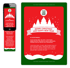 Christmas Email Template Wired Marketing