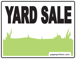 Free Yard Sale Signs Yard Sale Signs Download A Free Printable Sign
