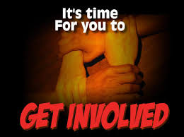 Image result for Time to Get involved images
