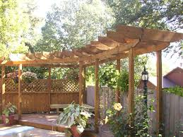 Simple Pergola hometalk how to make backyards more private gardening 1889 by xevi.us