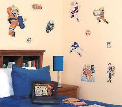 com naruto anime wall stickers and decals boys room decor