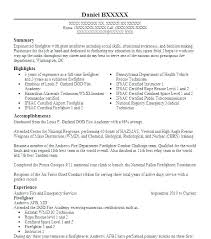 Firefighter Resume Template Gorgeous Fire Department Promotional Resume Template Fire Department Resume
