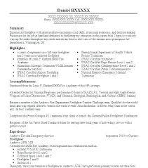 Firefighter Resume Templates Inspiration Fire Department Promotional Resume Template Fire Department Resume