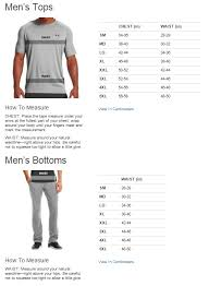 19 Matter Of Fact Under Armour Base Layer Size Chart