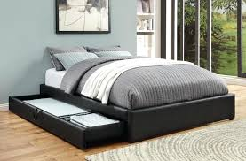 queen platform bed frame with drawers.  With Black Platform Bed With Drawers Brilliant Queen Storage  In Beds Frame Throughout To Queen Platform Bed Frame With Drawers T