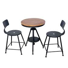 bistro table and chair set adjule table chair set kitchen dining table set bar table set