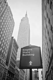 empire state building black and white. new york photograph the empire state building in city by ilker goksen black and white r