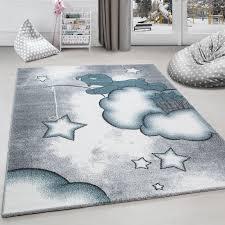 Carpet Mat Design Childrens Rug Carpet Design Bear Fishing For Stars On Cloud