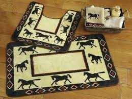 rustic bathroom rugs rug sets bed home design ideas