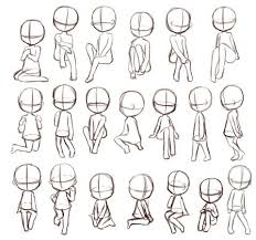 anime chibi drawing tutorial. Image Result For Chibi Anime Styles Drawing Body Poses Baby Reference Throughout Tutorial