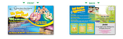 Pool Service Postcards Pool Marketing with Direct Mail