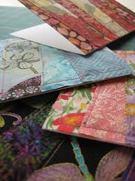 Patchwork Fabric Greeting Cards | Quilting in the Rain & Patchwork Fabric Greeting Cards - Quilting Tutorials and Fabric Creations -  Quilting in the Rain ... Adamdwight.com