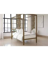 DHP DHP Modern Canopy Bed, Gold, Multiple Sizes - Twin from Wal-Mart USA, LLC | BHG.com Shop
