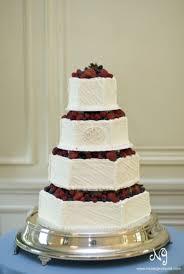 Wedding Cake Modern Buttercream Simple Elegant Fruit B