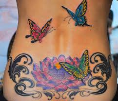 Tatuaggi Fiori E Farfalle Immagini E Significato