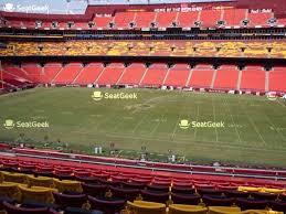 Fedex Stadium Chart Fedex Field Seating Chart Seatgeek