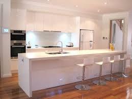Modern Kitchen Island Glass
