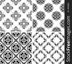 Damask Pattern Free Set Seamless Damask Pattern Free Stock Images Photos 19702307