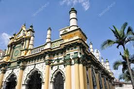 Abdul Gafoor Mosque, Little India Of Singapore — Stock Photo ©  naticastillog #9016913