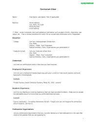 Resume Format Word A Resume Format Resume Format Best Of Resume