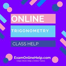 online trigonometry class help exam quiz and class help service online trigonometry class help