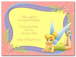 Tinkerbell Invitation Tinkerbell Invitation Template Free Collegio Sanlorenzo