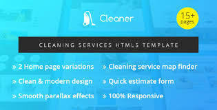 Cleaning Service Templates Cleaning Service Templates From Themeforest
