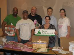 junior achievement of middle tennessee dell volunteers build ja curriculum kits