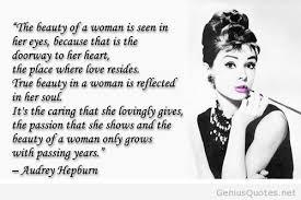 Audrey Hepburn Beauty Quote Best of Beauty Quotes Audrey Hepburn