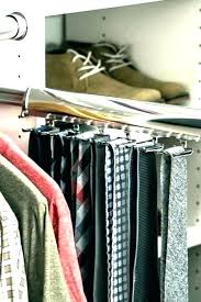 closet tie rack organizers tie hanger rack organizer rotating belt closet tie rack organizers closet organizers