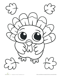 Thanksgiving Pages To Print And Color Free Printable Pictures