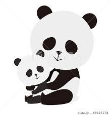 パンダの全身の写真素材 Pixta
