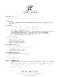 Banquet Manager Resume New Banquet Server Job Description Resume For Sample Manager Sous Chef