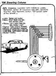 need a wiring diagram for the inside of a gm steering column the