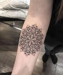 Miniature Mandala Tattoo By At Mangusttattooer Tattoos