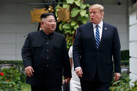Image result for trump in north korea