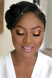 follow us @signaturebride on twitter and on facebook @ signature Wedding Hair And Makeup For Black Women smoky eye makeup for your wedding day