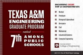 Texas A&M College of Engineering ranks high in latest US News ...