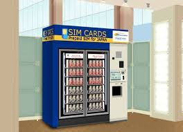 Japan Sim Card Vending Machine Gorgeous Japan's NTT Introduces SIM Card Vending Machines