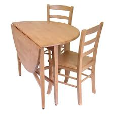 Drop Leaf Dining Table Amazoncom Winsome Hannah Dining Set Drop Leaf Table With 2
