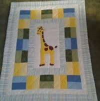 Young Texan Mama: William's Finished Berenstain Bears Quilt ... & Quilting : Giraffe Baby Quilt Adamdwight.com