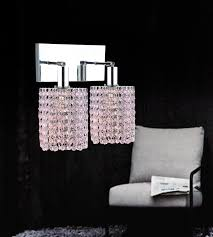 Chrome Bathroom Lighting Fixtures Magnificent 48 Light Chrome Vanity Light 448848WRCR Pink Clear Lighting Depot