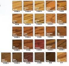 Varathane Classic Wood Stain Color Chart Wood Stain Varathane Wood Stain Color Chart